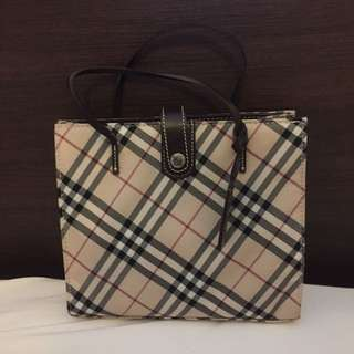 Burberry Blue Label Hand Held Tote Bag
