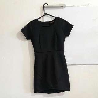 Redhead Little Black Dress Neoprene Material