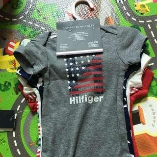 Tommy Hilfiger 全新5拿 Bodysuit 6-9個月