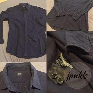 Uniqlo Navy Flannel