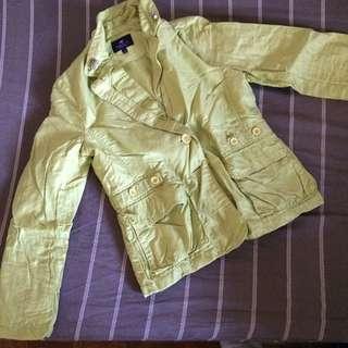 Neon Green Jacket Blazer