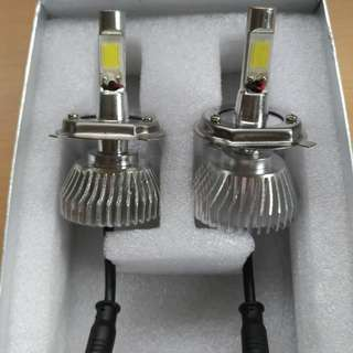 H4 6000k LED大燈