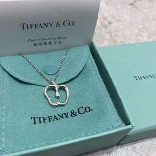 Tiffany & Co 蘋果鎖骨頸鏈