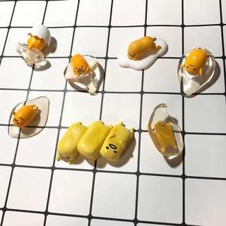 蛋黃哥扭蛋公仔擺飾杯緣子可愛療癒磁鐵冰箱