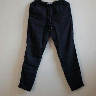 H&M L.O.G.G. Canvas Trousers