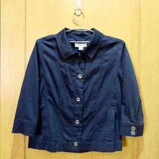 Christopher & Banks Jacket Polo