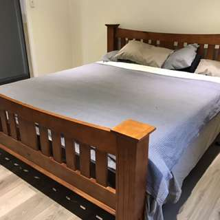 King Timber Bed Frame