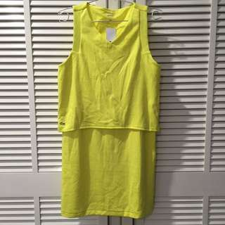 Lacoste L!ve Sleeveless Dress