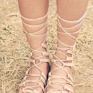 Laced Sandals