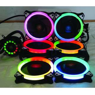 RGB LED CPU Fan & ID-Cool Frostflow Water Cool