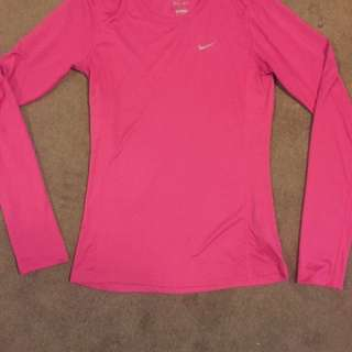 Nike Dri-Fit long sleeve top Sz 6