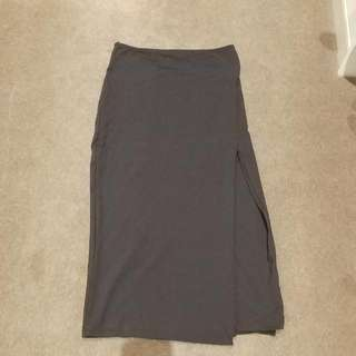 Kookai Split Black Skirt Size 1