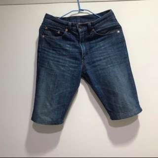 Levi's 牛仔短褲