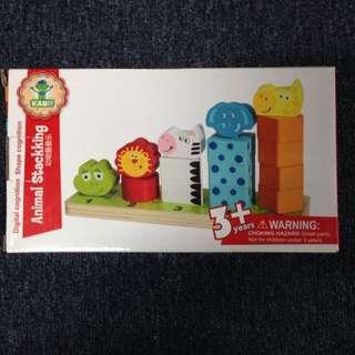 Animal Wooden Educational Set