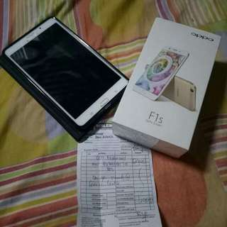 Oppo F1S  and Samsung Tab 4