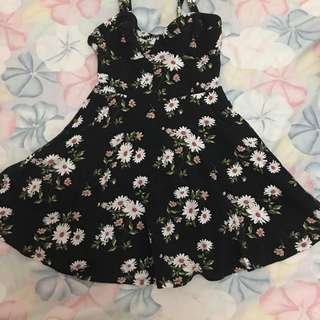 Forever 21 Floral Corset