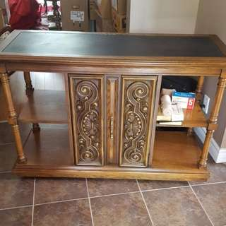Side Table ...serving Table .. REDUCED 175.00
