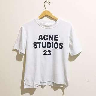 Acne Studios Crop Tee