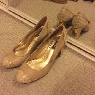 Mimco Leather Size 36 Shoes Vintage