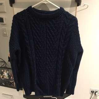 ZARA Cableknit Sweater