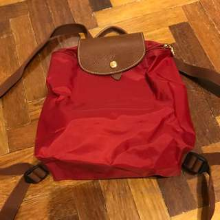 AUTHENTIC LONGCHAMP BACKPACK