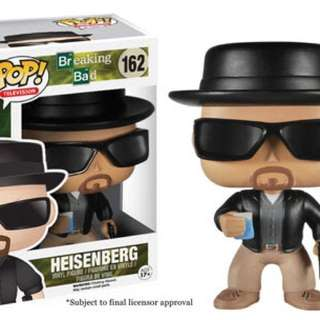 Heisenburg Pop Vinyl