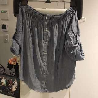 Forever New Offshoulder Shirt