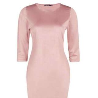 Boohoo Long Sleeved Bodycon Dress