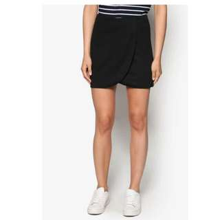 Zalora Basics Wrapped Skirt
