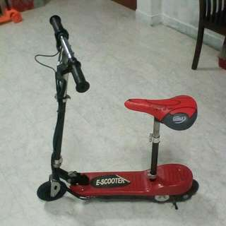 E Scooter With Seat(Basic) Suitable For Kids