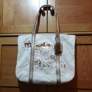 Coach  帆布袋(減價)