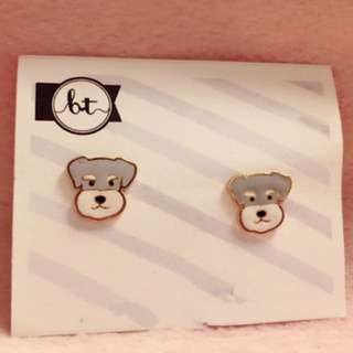 Doggy Earrings 耳環 狗仔 動物 puppy dog Korean fashion Style Trendy Korea 多款 Cute Cutie lovely cartoon 卡通 Colorful 彩色 Animals 韓國