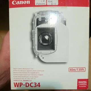Canon Wp-dc34 For G11