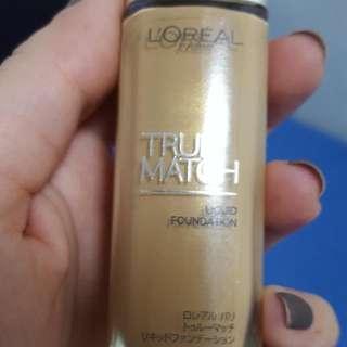 Loreal Paris True Match Foundation