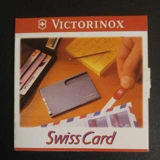 Victorinox 10 Functions Swiss Card (咭片型十項功能軍力套裝)