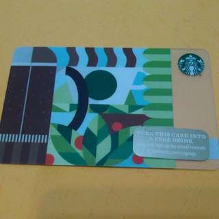 Starbucks Card 1