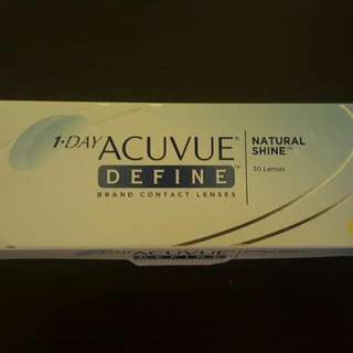 1 Day Acuvue Define