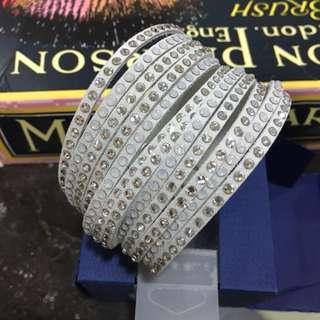 🚚 Swarovski 施華洛世奇 雙色水晶slake手環