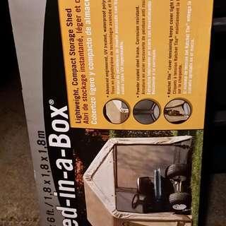 BNIB SHED IN A BOX