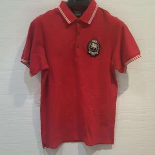 Everlast RED Polo T shirt XL Size