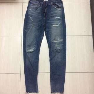 Zara 牛仔褲