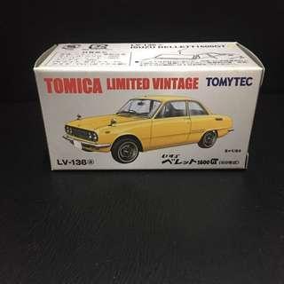 全新 Tomytec Tomica Limited Vintage LV-136a 1800GT(69年款)