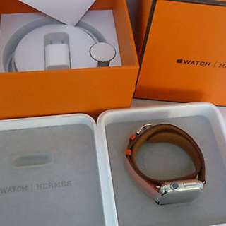 Apple Watch Hermes 38mm [Double Tour Band]