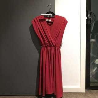 Loft 82 Red Dress
