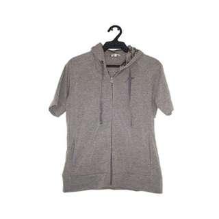 Gray Short Sleeves Jacket