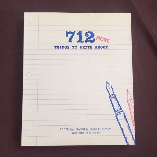 Re-priced: 712 & More Things To Write About