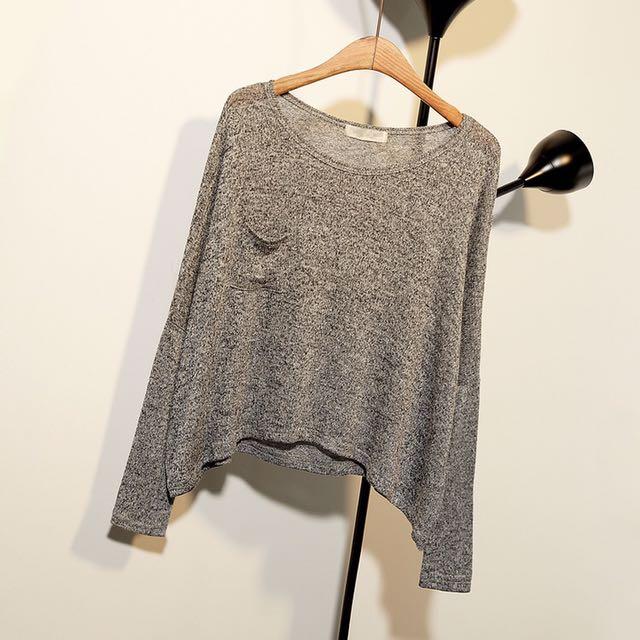罩衫💎薄款針織罩衫