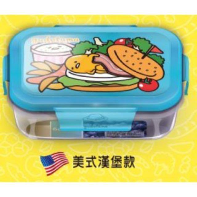 蛋黃哥世界料理系列耐熱玻璃密封保鮮盒