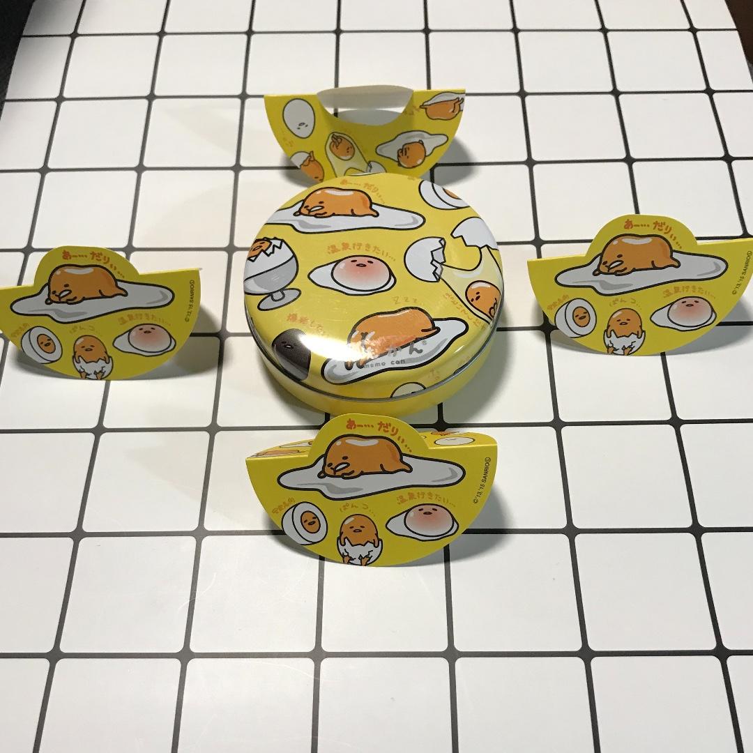 日本限定蛋黃哥不倒翁便條紙可愛療癒創意特價