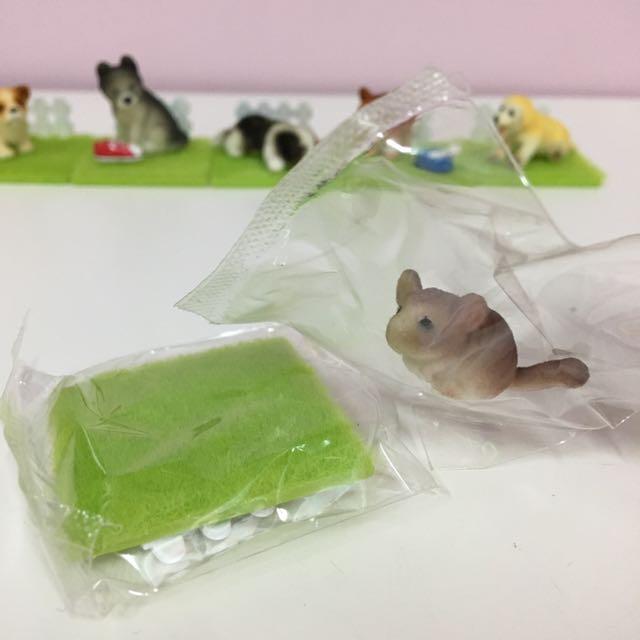 🐾絕版可愛動物盒玩 小老鼠🐀